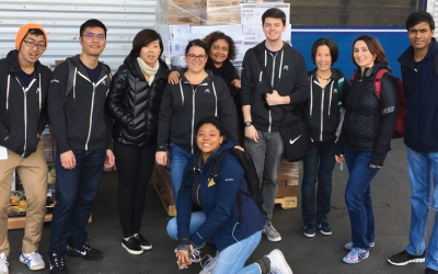 MyVest Volunteers at SF-Marin Food Bank