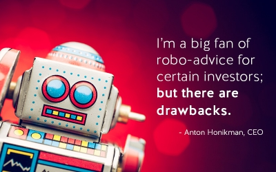 US News and World Report Robo Advice Anton Honikman