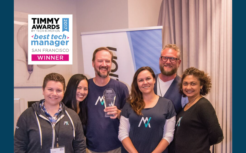 Congratulations Brian Marchiel, 2017 TIMMY Award winner for Best Tech Manager