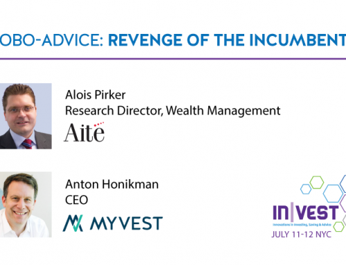 "MyVest & Aite Group to Present ""Revenge of the Incumbents"" at IN
