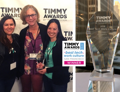MyVest Wins Best Tech Work Culture at the 2018 TIMMY Awards