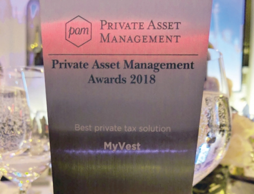 MyVest Wins PAM Award for Best Private Tax Solution [Private Asset Management]