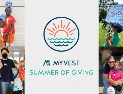 MyVest's Summer of Giving Program